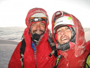 Nic and I at the top of Cotopaxi