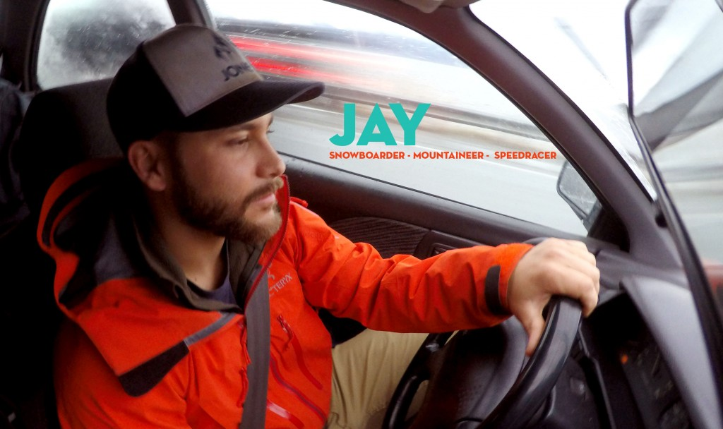 Jay was the co-genius of the Alaskan trip. He came back from his money pot of a job in CA to ride the lines... He still hasn't left AK.