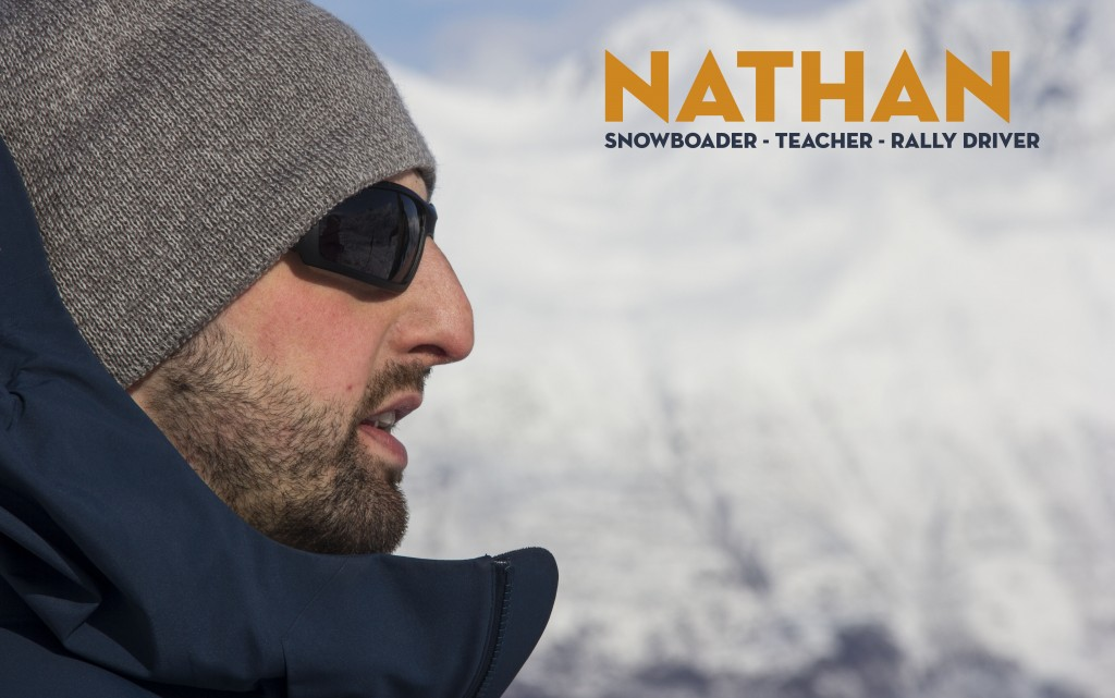 Nathan also lead the charge in making #Alaska2015 a reality. He couldn't wait to slap on some skins and make our way up up up!